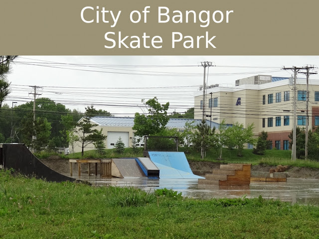 Bangor skate park relocated between union street maine ave for Motor city bangor maine