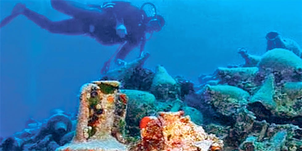 Ancient Greek shipwrecks open to public