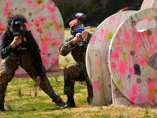adventure with paintball gun personal experience