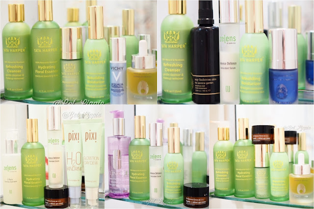 Skincare featuring: Tata Harper, May Lindstrom, Dr Dennis Gross, Omorovicza, Vichy, Clinique, Pixi Beauty, Zelens