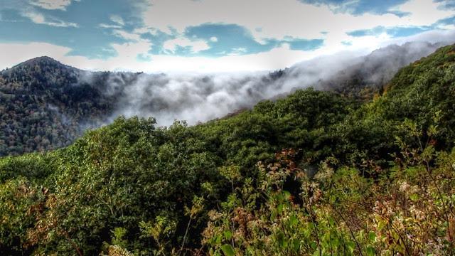 Waterfall of Clouds Cloud Cascade Cloudfall Cloud Waterfall