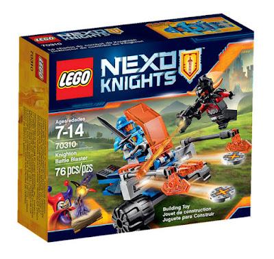 TOYS : JUGUETES - LEGO Nexo Knights  70310 Destructor de Combate de Knighton | Knighton Battle Blaster  Producto Oficial 2015 - 2016 | Piezas: 76 | Edad: 7-14 años  Comprar en Amazon España & buy Amazon USA