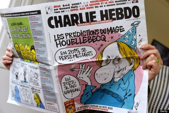 Terror attack in Paris Charlie Hebdo
