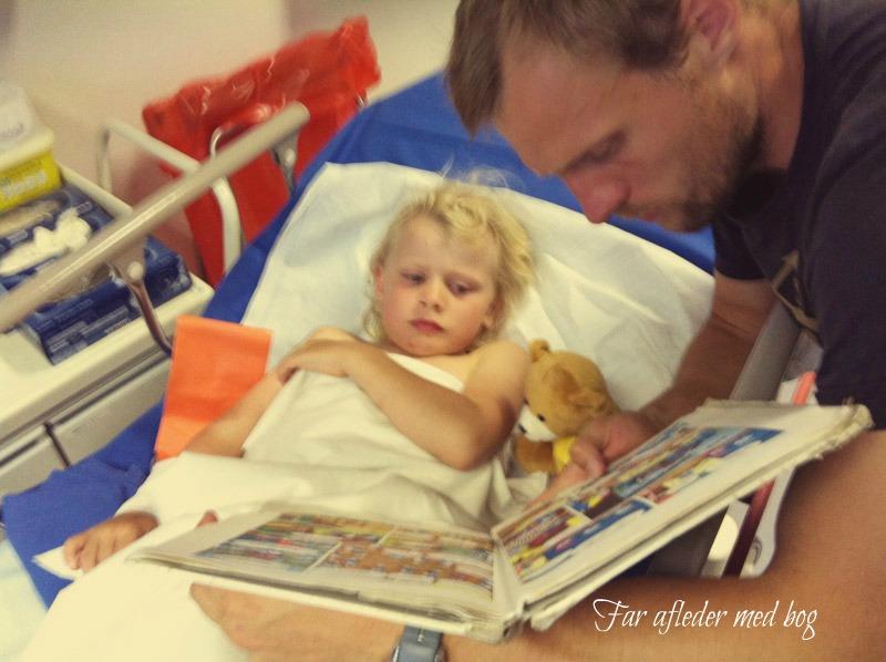 brækket håndled barn