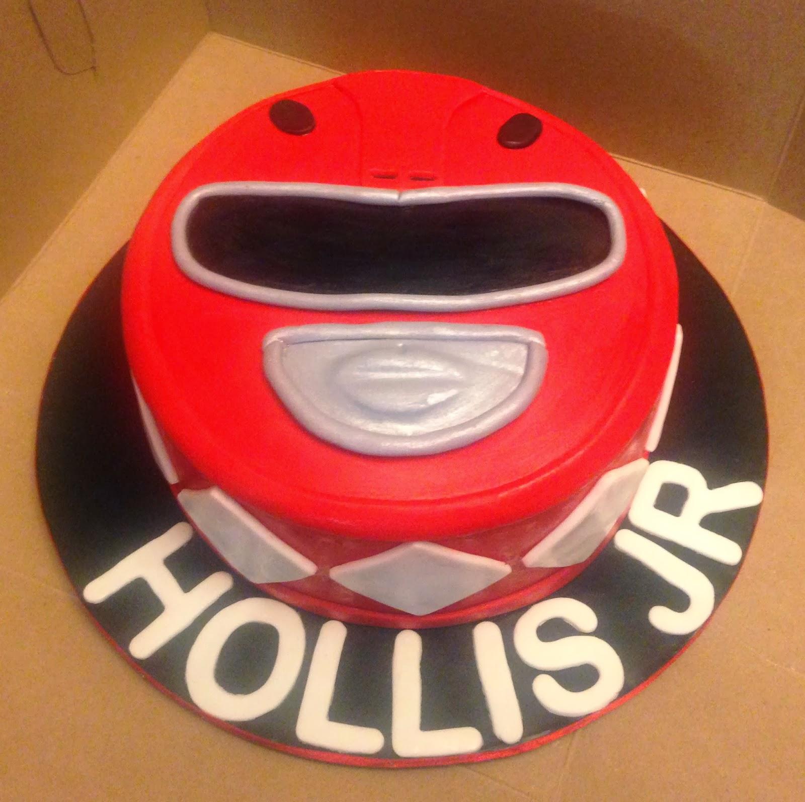 Power Rangers Birthday Cake And Cupcake Ideas