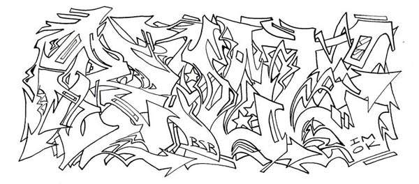 Graffiti wildstyle alphabets sketches graffiti art graffiti wildstyle alphabets sketches 4 altavistaventures Choice Image