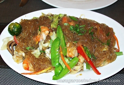 pancit sotanghon at The Prawn Farm Grill and Seafoods