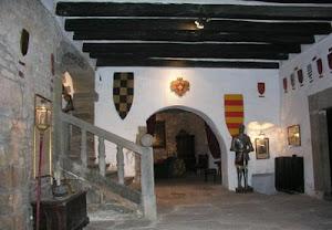 Interior del castell de Montsonís