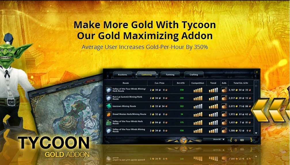 Tycoon World of Warcraft Addons