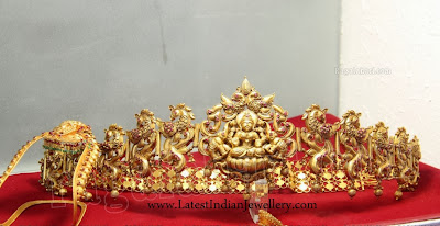 Antique Gold Waist Belt Designs
