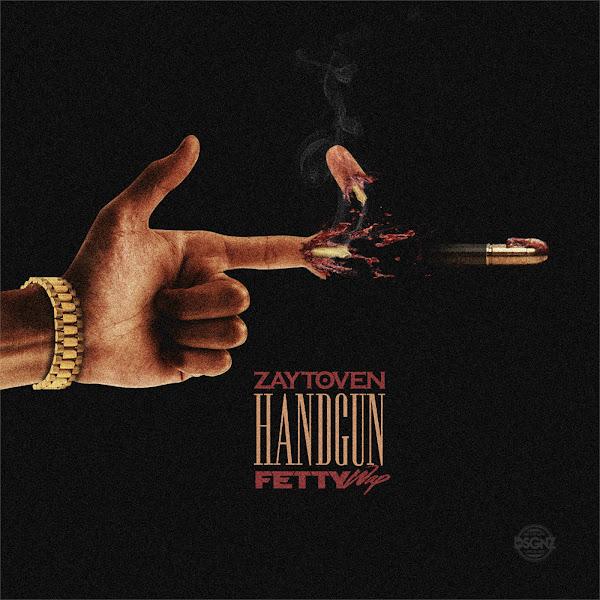 Zaytoven - Handgun (feat. Fetty Wap) - Single Cover