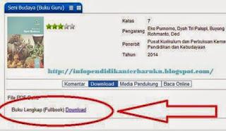 Cara Download Buku Kurikulum 2013