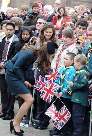 Kate Visits Leicester for the Diamond Jubilee Celebrations