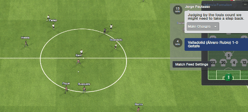 Football Manager Match feedback