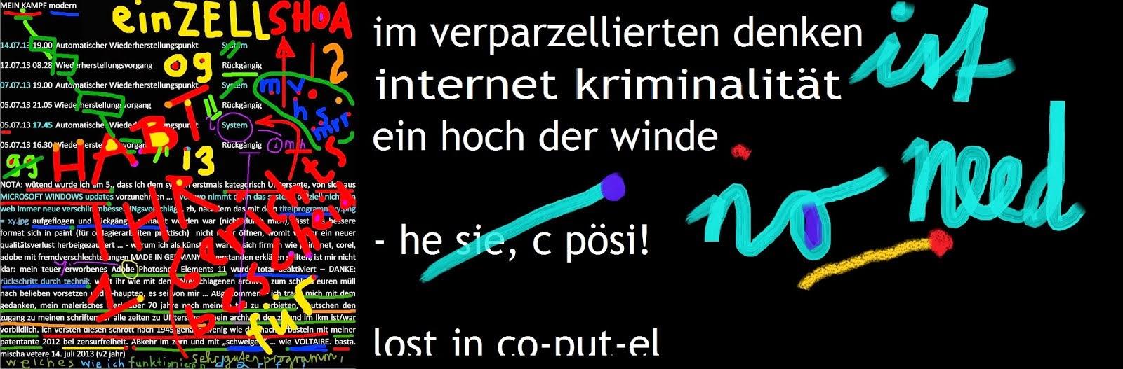 microsoft hacking stalking deutsche telekom gegen nichtkunden rubbery andalism ART prolitteris gema