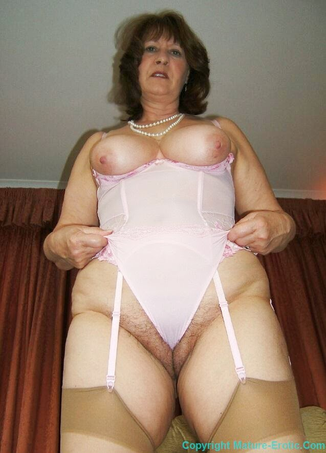 girdle English mature granny