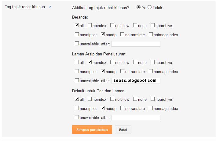 Cara Memaksimalkan SEO Dengan Tepat Di Blogger