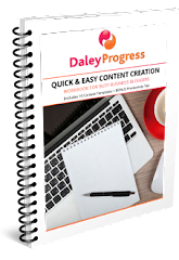 Quick & Easy Content Creation Workbook