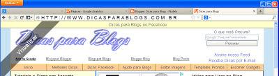 Criar Barra de Notificação/Divulgação no Blog