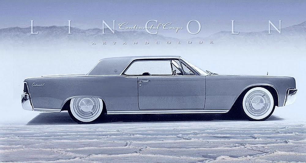 1964 Lincoln Continental  Chopped 1961 Lincoln Continental two