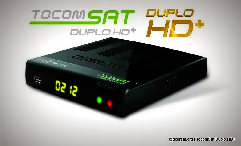 STB TocomSat Duplo HD+ Oficial Download