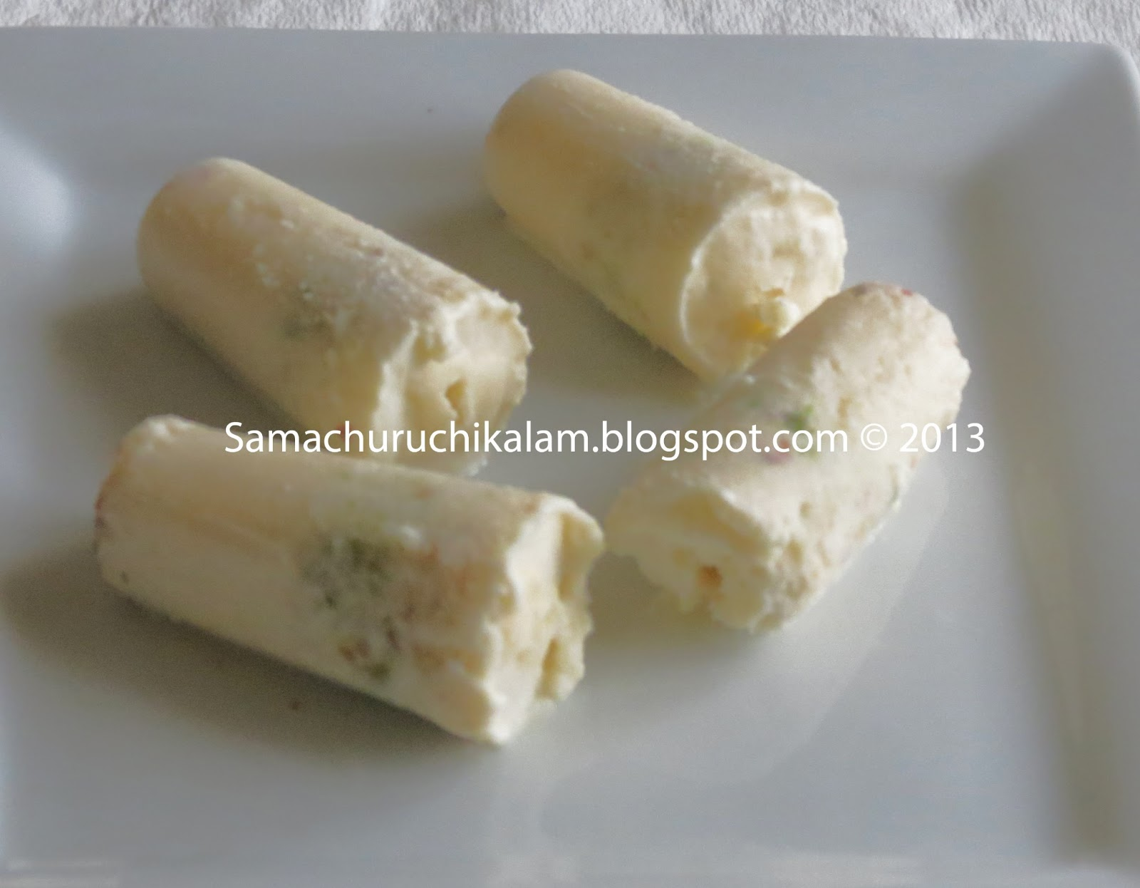 Recipes from Manju's kitchen: Kulfi