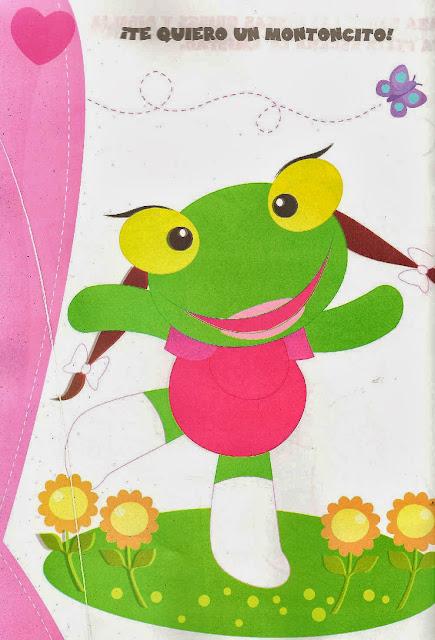 Sapo pepe y sapa pepa im genes e invitaciones para for Cancion para saludar al jardin de infantes