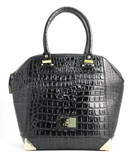 Juno Maceio Black Mock Croc Bag, £69