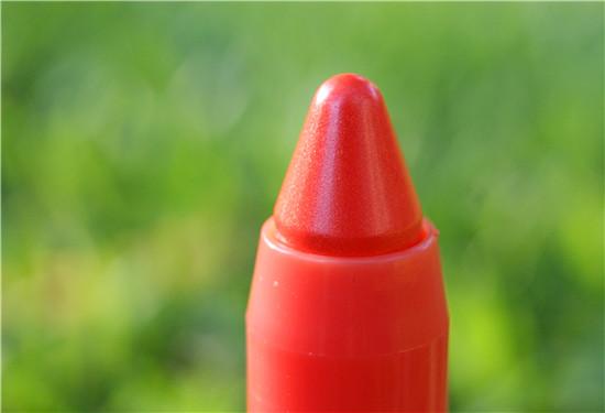 orange lipstick, balm, lip stain