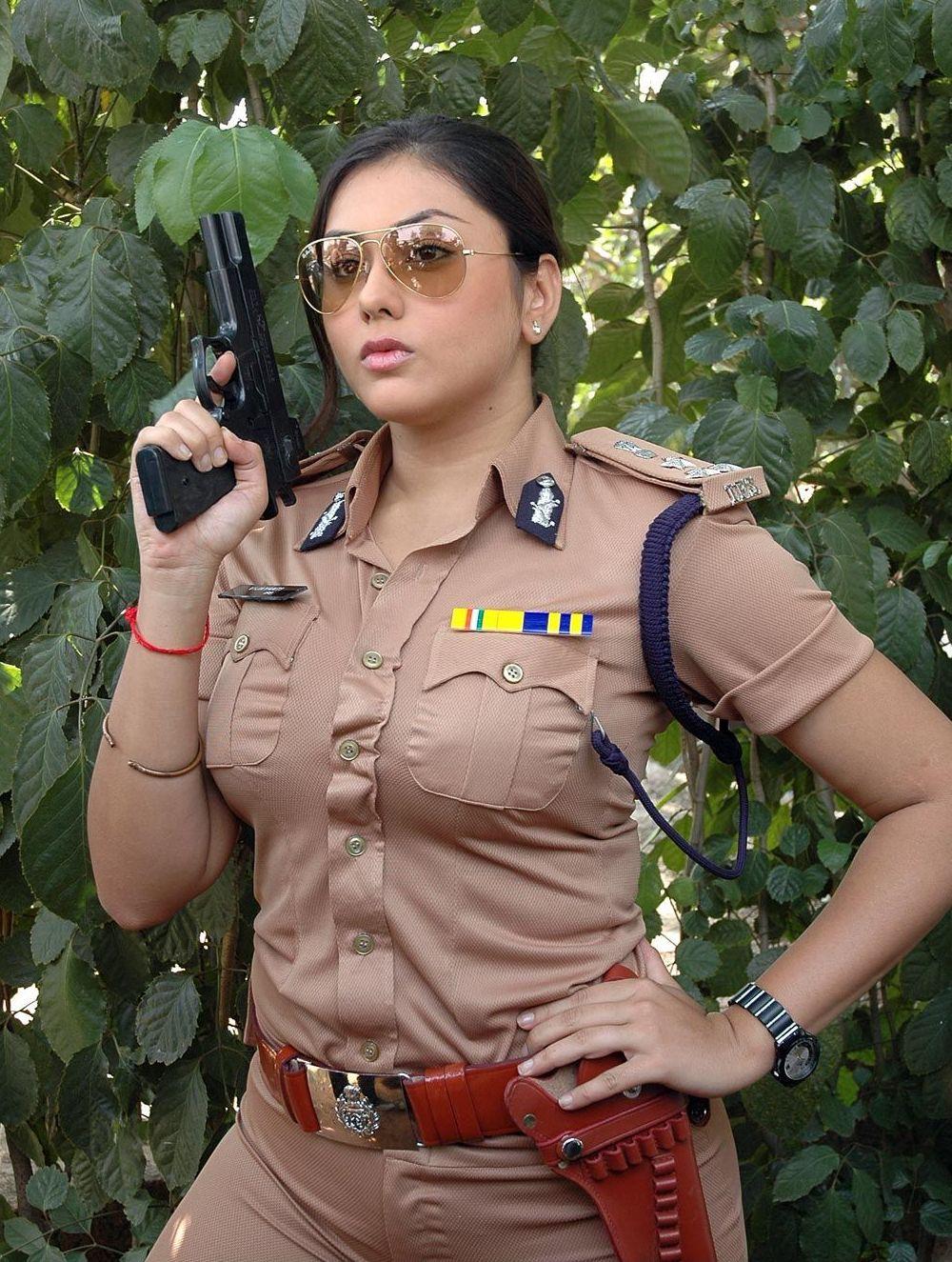 Namitha Police Dress