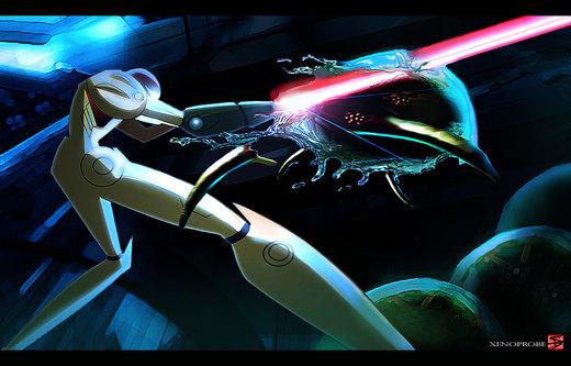 Metroid por xenoprobe