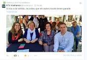 Signatura de llibres per Sant Jordi 2015