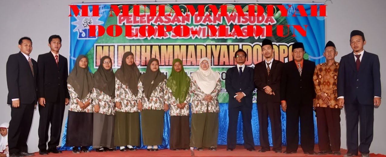 MI MUHAMMADIYAH DOLOPO MADIUN