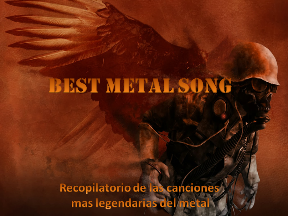 BEST METAL SONG