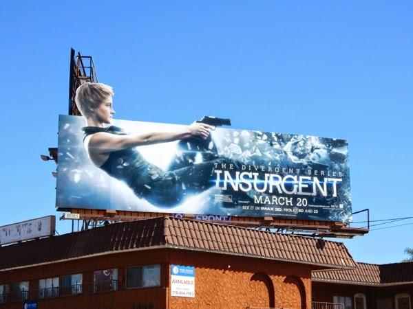 Shailene Woodley Insurgent Tris special billboard