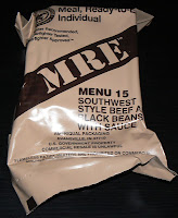 MRE Review: Menu 15, Southwest Beef and Beans Overwrap