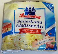 German sauerkraut with bacon
