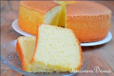 Egg yolk sponge cake recipe kusinera davao chocolate peanut butter brownies egg yolk sponge cake forumfinder Images