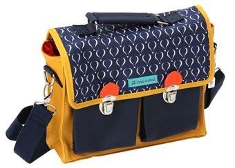 Back to school Rentrée scolaire Cartable Le Petit Zèbre smallfabrik