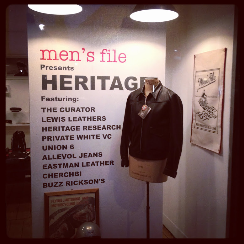 MENSFILE PRESENT HERITAGE   47 LAMBS CONDUIT STREET WC1