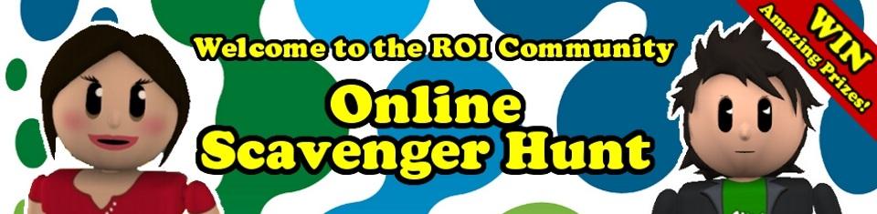 ROI Community Online Scavenger Hunt