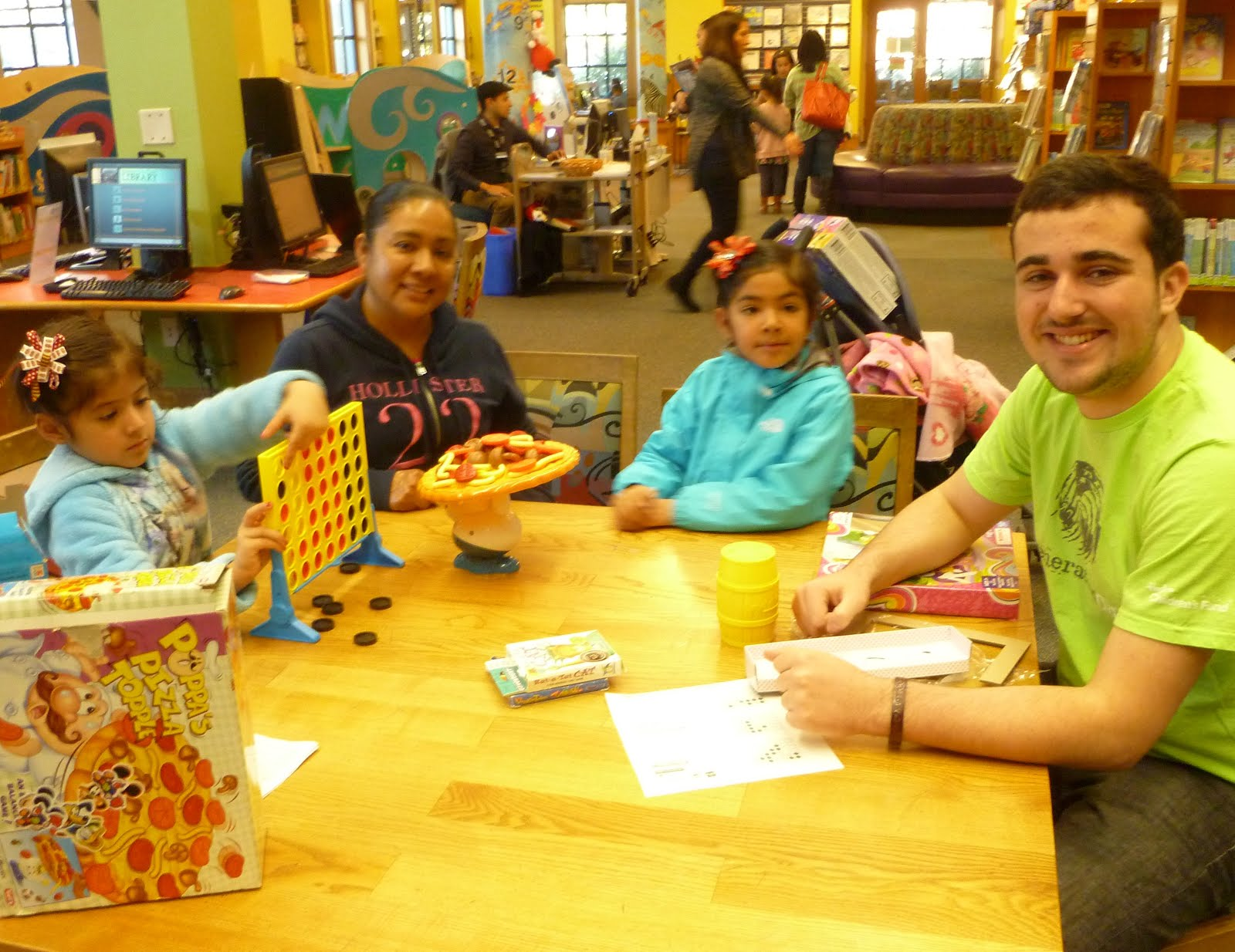 Board Game Day at the Library - Dec. 23, 2015