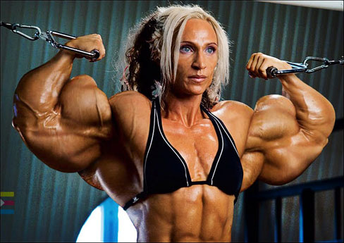 Klaudia Larson Female Muscle Bodybuilding Blog Area Orion