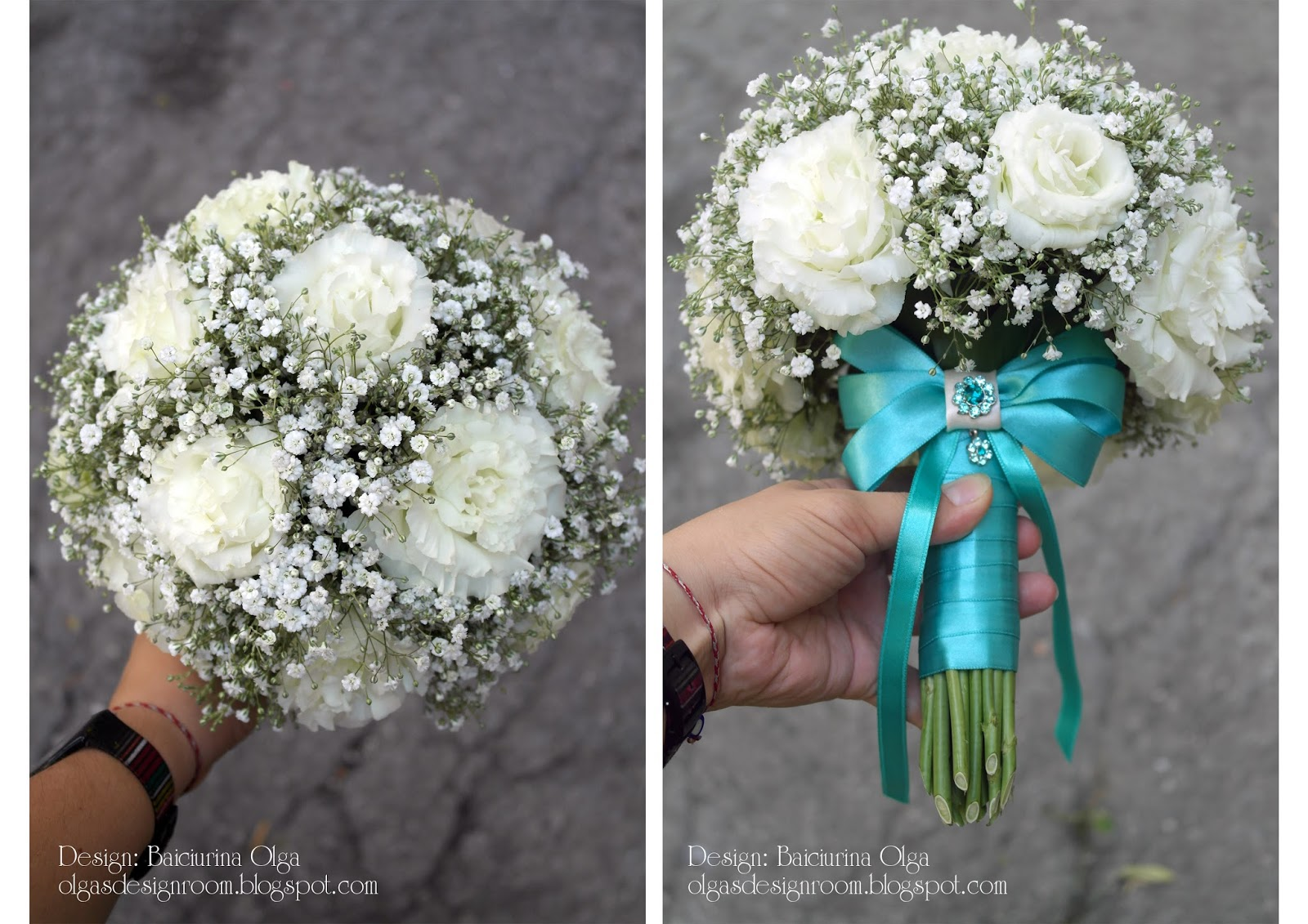 Цвет тиффани букет невесты