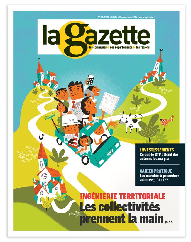 Clod couverture Gazette groupe Moniteur