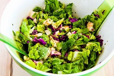 Kalyn's Kitchen®: Chopped Salad Recipe with Shrimp, Cabbage, Jicama ...