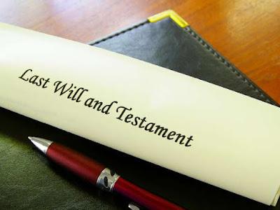Trámites testamento