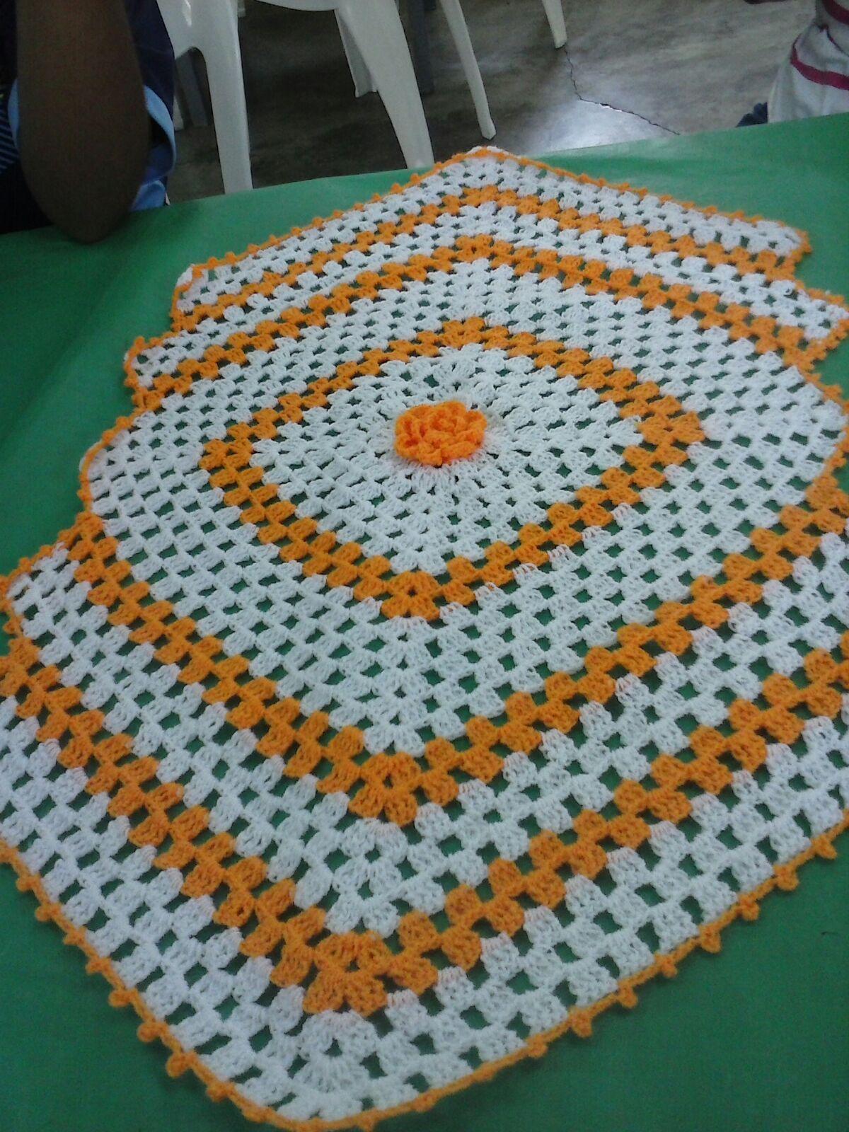 Patrones de tejidos en crochet para manteles - Mantel de crochet ...