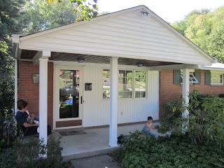 Finished Porch Rennovation