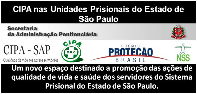 CIPA nas Unidades Prisionais do Estado de São Paulo